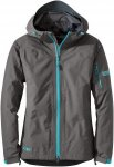 Outdoor Research - OR Women's Aspire Jacket - pewter/typhoon - M