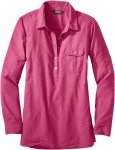 Outdoor Research - OR Women's Coralie L/S Shirt - sangria - S