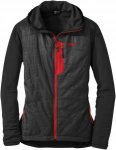 Outdoor Research - OR Women's Deviator Hoody - black/flame - L