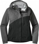Outdoor Research Women's Panorama Point Jacket-charcoal herringbone/black-XS - G