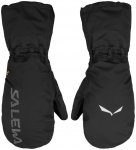 Salewa ORTLES PTX 3L OVERMITTEN - black out, M - BLACK OUT