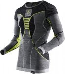 X-Bionic APANI Merino Fastflow Shirt long Men schwarz/gelb - Black/Grey/Yellow -