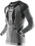 X-Bionic APANI Merino Fastflow Shirt long Men schwarz/grau - Black/Grey/Ivory -