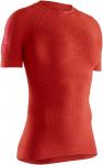 X-BIONIC® EFFEKTOR 4.0 RUN SHIRT SH SL WMN - O004 SUNSET ORANGE/NAMIB RED - XS