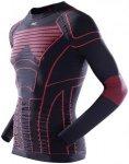 X-Bionic MOTO Energizer Shirt - black/red - Gr. S/M