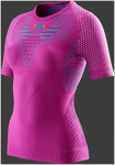 X-BIONIC RUNNING LADY TWYCE OW SHIRT SH_SL. Violet/Turquoise - Gr. M