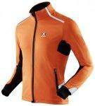 X-BIONIC RUNNING MAN WINTER SPHEREWIND LIGHT OW JACKET - Orange / Black - Gr. XL
