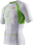X-BIONIC RUNNING THE TRICK SHIRT Short Sleeves Laufshirt Herren - White-lime - G