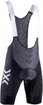 X-BIONIC® TWYCE 4.0 BIKE BIB SHORTS PADDED MEN - B002 OPAL BLACK/ARCTIC WHITE -