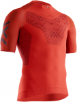 X-BIONIC® TWYCE 4.0 RUN SHIRT SH SL MEN - O006 SUNSET ORANGE/TEAL BLUE - S