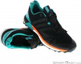 adidas Terrex Agravic Herren Traillaufschuhe-Schwarz-8,5