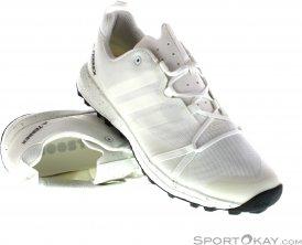adidas Terrex Agravic Herren Traillaufschuhe-Weiss-11