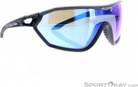 Alpina S-Way CM+ Sonnenbrille-Schwarz-One Size