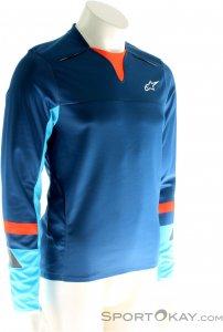Alpinestars Drop Pro LS Jersey Bikeshirt-Blau-S