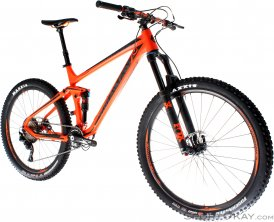Bergamont Trailster 8.0 2017 Endurobike-Orange-M