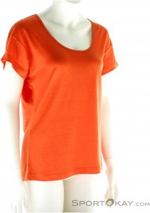 Black Diamond Ancient Art Tee Damen T-Shirt-Orange-XS