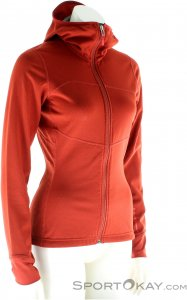 Black Diamond Coefficient Hoody FZ Damen Outdoorsweater-Rot-L