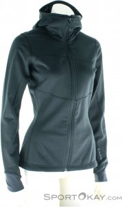 Black Diamond Coefficient Hoody FZ Damen Outdoorsweater-Schwarz-XL