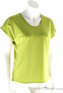 Black Diamond Pale Fire SS Damen T-Shirt-Grün-XL