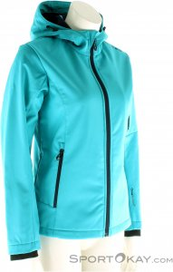 CMP Softshell Damen Outdoorjacke-Türkis-46
