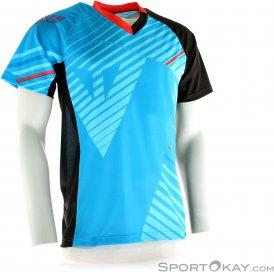 Dainese Flow Tec Jersey Bikeshirt-Blau-S