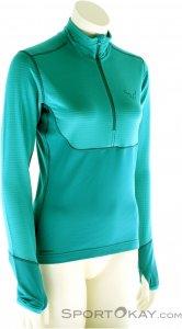Dynafit TLT PTC Zip Damen Tourensweater-Blau-40