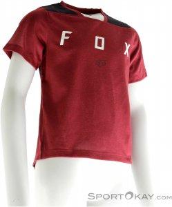 Fox Junior Indicator Jersey Jungen Bikeshirt-Rot-L
