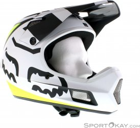 Fox Rampage Comp Creo Downhill Helm-Weiss-XL