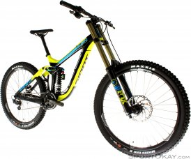 Giant Glory Advanced 1 2016 Carbon Downhillbike-Gelb-L
