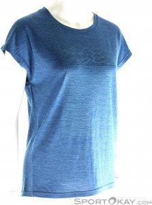 Houdini Activist Message Tee Damen T-Shirt-Blau-M