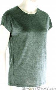 Houdini Activist Message Tee Damen T-Shirt-Grün-M