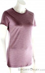 Houdini Activist Message Tee Damen T-Shirt-Lila-XS