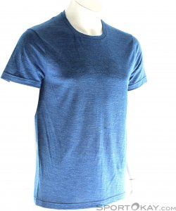 Houdini Activist Message Tee Herren T-Shirt-Blau-S
