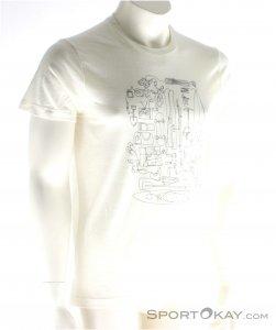 Houdini Activist Message Tee Herren T-Shirt-Weiss-S