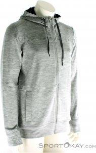 Icebreaker Shifter LS Zip Hood Herren Outdoorsweater-Grau-XL