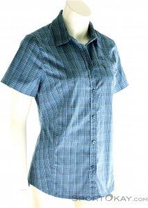 Jack Wolfskin Centaura Stretch Vent Shirt Damen Outdoorbluse-Blau-M