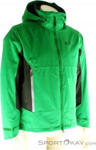 Jack Wolfskin North Border Jacket Herren Outdoorjacke-Grün-M