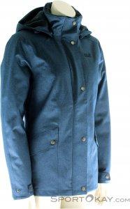 Jack Wolfskin Park Avenue Jacket Damen Outdoorjacke-Blau-M