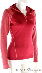 La Sportiva Saturn Hoody Damen Tourensweater-Rot-S