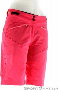 Löffler Shorts Montina CSL Damen Bikehose mit Innenhose-Pink-Rosa-40