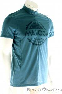 Maloja Duan Shirt Herren T-Shirt-Lila-L
