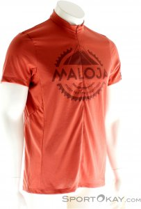 Maloja Duan Shirt Herren T-Shirt-Rot-L