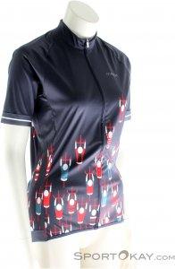 Maloja Franca Shirt Damen T-Shirt-Blau-XS