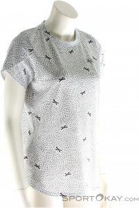Maloja LibellaM. Multi 1/2 Damen T-Shirt-Weiss-S