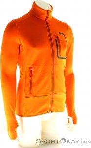 Maloja LugoM. Fleece Jacket Herren Fleecejacke-Orange-XL