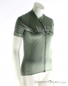 Maloja Suvretta Shirt Damen T-Shirt-Oliv-Dunkelgrün-XS