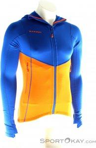 Mammut Eiswand Advanced ML Hooded Jacket Herren Tourenjacke-Orange-L