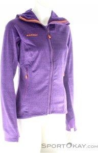 Mammut Eiswand Guide ML Hooded Jacket Damen Tourensweater-Lila-L