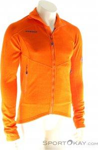 Mammut Eiswand Guide ML Jacket Herren Fleecejacke-Orange-M