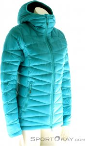 Mammut Miva In Hooded Jacket Damen Tourenjacke-Blau-S